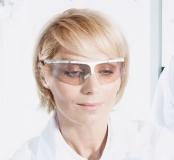 Leichte, elegante Spritzschutzbrille